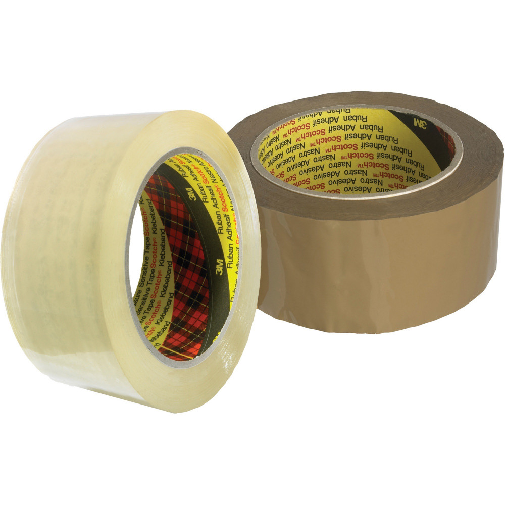 SCOTCH 370 PACKAGING TAPE 48mmx75m Brown Roll