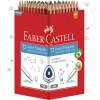 FABER-CASTELL PENCIL Junior Triangular Grip HB Pack of 72