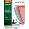 FELLOWES® BINDING COVER A4 200 Micron PVC Clear Pack of 100