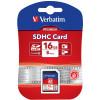VERBATIM SDHC MEMORY CARDS 16GB (Class 10)