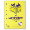 SPIRAX 598 SPIRAL LECTURE BOOK A4 140 Page Pocketed