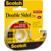 SCOTCH 137 DOUBLE SIDED TAPE 12.7mmx11.4m & Dispenser Roll