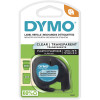 DYMO LETRATAG LABELLING TAPE 12mmx4m - Clear