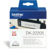 BROTHER LABEL PRINTER ROLLS White Paper 62mmx30.48mt