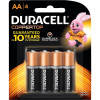 DURACELL COPPERTOP BATTERY AA Card of 4 Pack of 4