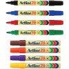 ARTLINE 70 PERMANENT MARKERS Med Bullet Assorted Pack Of 12 Box of 12