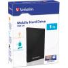 VERBATIM MOBILE HARD DRIVE 2.5 USB 2.0 1TB