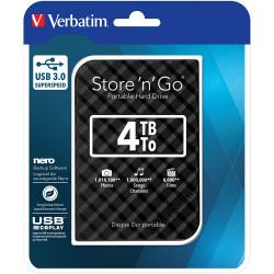 Verbatim 53223 Hard DriveBlack