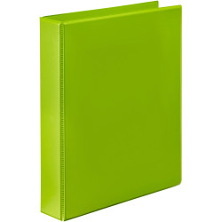 Marbig Clearview Insert Binder A4 2D Ring 38mm Lime