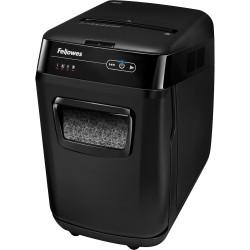 FELLOWES® SHREDDER 200M AutoMax AutoFeed Micro Cut Black
