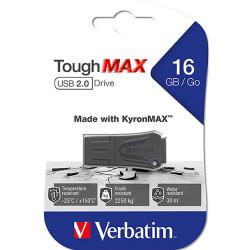 VERBATIM TOUGHMAX USB 2.0 DRIVE 16GB