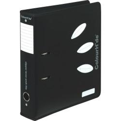 Colourhide Lever Arch Binder A4 70mm Zip Closure Black