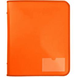 Marbig Zipper Binder A4 Tech Case 25mm 2D Orange