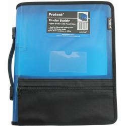Protext Zipper Insert Binder A4 2D 25mm Blue