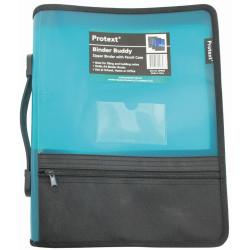 Protext Zipper Insert Binder A4 2D 25mm Aqua