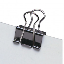 MARBIG FOLDBACK CLIPS 19mm