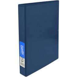 Bantex Insert Binder Standard A4 2D Ring 25mm Blue