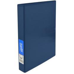 Bantex Insert Binder Standard A4 4D Ring 25mm Blue