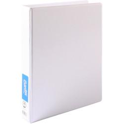 Bantex Insert Binder Standard A4 4D Ring 25mm White