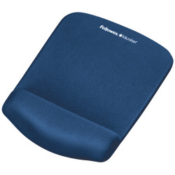 FELLOWES MOUSE PAD WRIST REST Plush Touch Lycra W/ Microban