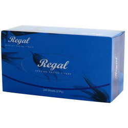 REGAL FACIAL TISSUES 2 Ply, 200Shts