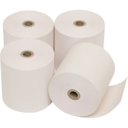 MARBIG CALC/REGISTER ROLLS 76x76x11.5mm 2Ply Pack of 4