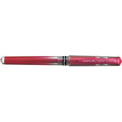UNIBALL SIGNO BROAD ROLLERBALL Gel Metallic Red Box of 12