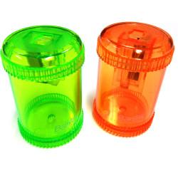BANTEX CANISTER SHARPENER Single Hole Orange & Green