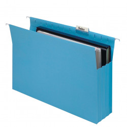 MARBIG SUSPENSION FILES Expand w/Tabs & Inserts Blue Pack of 20