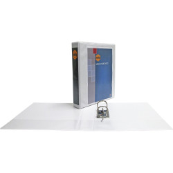 Marbig Clearview Insert Binder Half Arch A4 50mm White