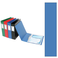 Marbig Deluxe PE Binder A4 2D Ring 25mm Blue