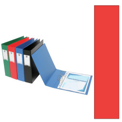 Marbig Deluxe PE Binder A4 3D Ring 38mm Red