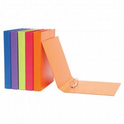 Marbig Summer Colours Binder A4 2D Ring 25mm Orange