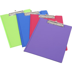 Marbig Summer Colour Clipfolder A4 PE Blue