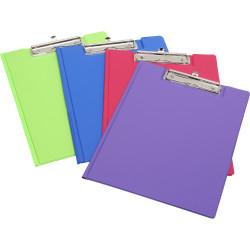 Marbig Summer Colour Clipfolder A4 PE Purple
