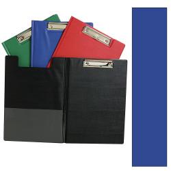 Marbig Clipfolders PE Foolscap Blue