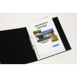 MARBIG COPYSAFE SHEET PROTECTR Economy A4 Low Glare Box of 100