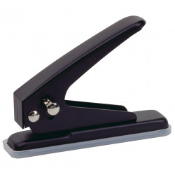REXEL 1-HOLE PUNCH 19Sht Black