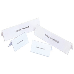 REXEL NAME PLATES Small 92x56mm Box of 50