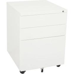 RAPIDLINE MOBILE PEDESTAL 3DR 2 Std 1 Filing White H610xW450xD500