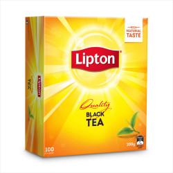 LIPTON TEA BAGS String & Tag Box of 100