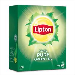 LIPTON TEA BAGS Green Tea Box of 100