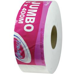 TRUSOFT JUMBO TOILET ROLLS 2 Ply 400Mtr Carton of 6