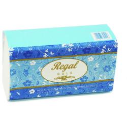 REGAL GOLD PREMIUM HAND TOWEL Slimline TAD 22.5x23cm 200s Suit H2 Dispenser,Carton of 16