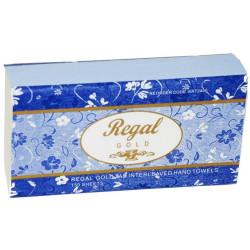 REGAL GOLD PREMIUM HAND TOWEL Ultraslim TAD 23x23.5cm 150s Suit H4 Dispenser,Carton of 16