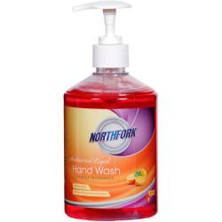 NORTHFORK LIQUID HAND WASH Antibac Orange Fragrance 500Ml Dispenser