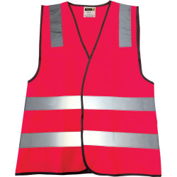 ZIONS 2802 SAFETY VEST HiVis Pink - McGrath Foundion