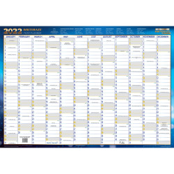 COLLINS WRITERAZE YEAR PLANNER Exec Lam Framed 500x700