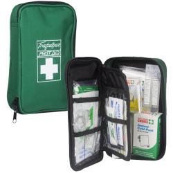 Trafalgar First Aid Kit Vehicle Soft Case Green