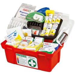 Trafalgar First Aid Kit National Workplace Portable Hard Case